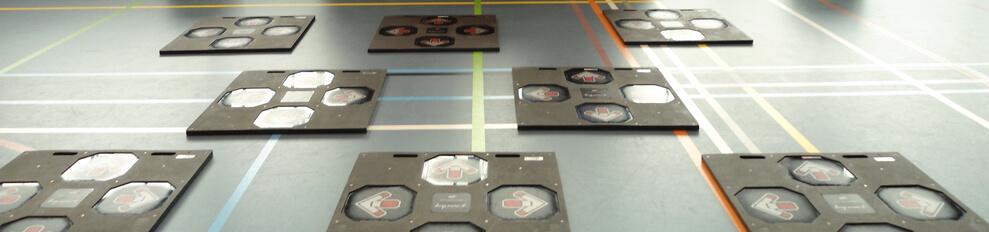 Draadloze dancepads snel en eenvoudige in gebruik